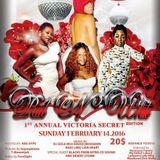 RED N WHITE 1ST  ANNUAL VICTORIA SECRET EDITION  SUNDAY FEBRUARY 14 2016
