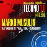 MARKO MUSULIN - Live @ Hard²Core presents TECHNO 1.0 (Aquarius A1, Zagreb - 04.10.2013)