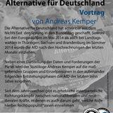 Andreas Kemper: Entstehung und Entwicklung der Alternative für Deutschland (22. April 2014)