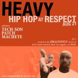 HEAVY HIP HOP @ RESPECT LOS ANGELES - DJ TECH-SON