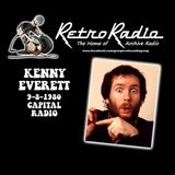 KENNY EVERETT - CAPITAL RADIO - 09-08-1980