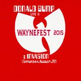 Donald Bump LIVE@WAYNEFEST 2015