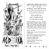 Luke's Anger (Live PA) @ Acidelika Open Air 2018 - Rs Růžená Chyšky - 15.06.2018