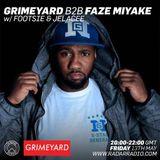 Grimeyard B2B Faze Miyake W Footsie And Jelacee - 13th May 2016
