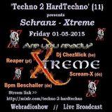 Dj ChezMick @ 'Techno 2 HardTechno' 01-05-2015