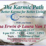 Karmic Path with Tina Erwin and Laura VanTyne 20170223_The Karma of Fear