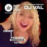 DJ VAL IBIZA LIVE RADIO Deep House Sessions 1018