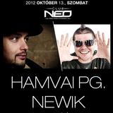 2012.10.13. hamvai pg & newik live & club neo