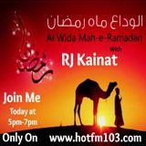 (HOTFM103) Ramdan Special Show Alvida Mah-e-Ramdan With RJ KAINAT (15-07-2015)