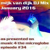 Mijk van Dijk DJ Mix January 2016