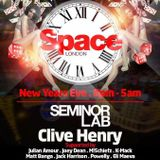 Julian Amour - Seminor Lab & Space New Year's Eve - Casino Vegas at The Driver