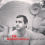 richter FM live+ Ambidextrous guest set