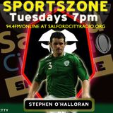 Salford City's Stephen O'Halloran on joining SCFC and taking on Benfica