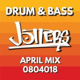 Jotters April 2018 mix - drum and bass