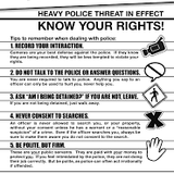 Know Your Rights part 2