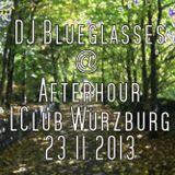 DJ Blueglasses - Afterhour @ LClub Würzburg 23.11.2013