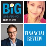 2RRR 88.5 FM The Big Breakfast with Aurelia & AFR journalist Angus Grigg talking about Ryde Council