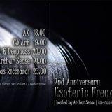 CJ Art - Esoteric Frequencies 2nd Anniversary Guest Mix (11.08.2013) on TM-Radio com