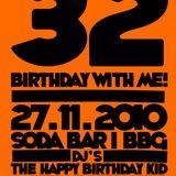 27.11.2010 - The Happy Birthday Kid @ Soda Bar Bamberg