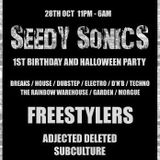 Seedy Sonics presents Hospitality DJ Competition