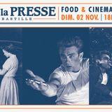 Food & Cinema #2 by ATN @ Cafe de la Presse (02-11-14)