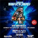 RAM @ Live , Trancesanctuary 4th Birthday @ Egg, London UK (14-March-2015)