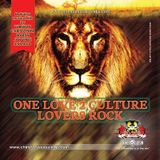 ONE LOVE CULTURE LOVERS ROCK