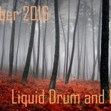 October 2016 Liquid Drum and Bass mix