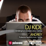 DJ kiDe - Pulseone Sessions 048 on Insomniafm 07.01.2015