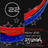 DJ DIAGA - MWD 2018 - 22 SESSIONS