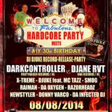 Dj Djuke Live @ Record Release Party - Charly Brown 8-8-2014 (Warmup Round)