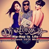 VA BPM - DJ AnoniM - Hip-Hop is Life ( March 2014 Mix )