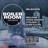 Recloose Boiler Room Melbourne Night  3.7.2014