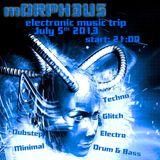 mORPH3U5 Party 07/05/2013 b2b Codek & Toxic