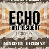 "Pickman ""ECHO for PRESiDENT!"" #22 mixtape"