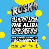 Roska LIVE @ The Alibi 13/08/2015