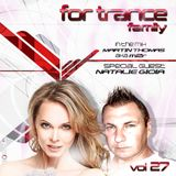 For Trance Family vol.27 Mixed by Martin Thomas aka M2R & Natalie Gioia