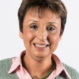Fatima Jenn, maire-adjointe de Mulhouse, conseillère départementale, soutien de Macron