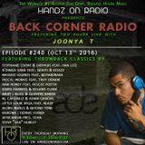 BACK CORNER RADIO: Episode #240 #ThrowBackThursday (Oct 13th 2016)