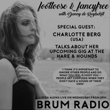 Charlotte Berg interview on Footloose & Fancyfree with Danny de Reybekill (26/07/2017)