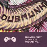 Dubmunk @ Freenetik Party, Timisoara, RO - 24 Jan 2015