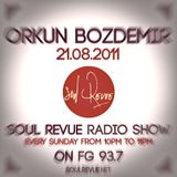 Orkun Bozdemir - FG Sunday Residents - 21.08.2011 - SOUL REVUE RADIO SHOW