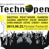 Zolek meets studio: Warm up to Technopen Festival 2013-June