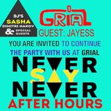 Jayess: Never Say Never, Sasha's birthday