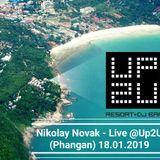 Nikolay Novak - Live @Up2U (Phangan) 18.01.2019