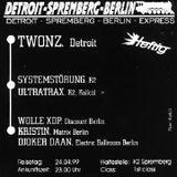 Djoker Daan @ Heftig (Detroit-Spremberg-Berlin-Express) - K2 Spremberg Flugplatz Welzow - 24.04.1999