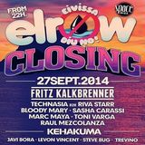 Toni Varga @ Elrow Closing Party, Space (Ibiza)  27-09-2014