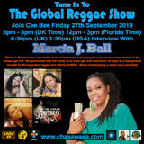 Cee Bee Global Reggae Show 165 27-09-2019