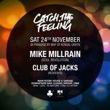 Mike Millrain (live DJ set) @ Catch the Feeling 24/10/18
