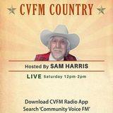 CVFM Country with Sam Harris 11th February 2018